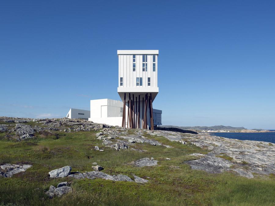 Fogo Island Inn, Newfoundland Architect: Todd Saunders