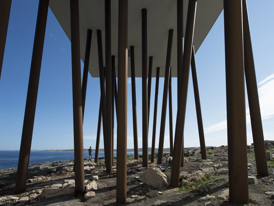 Fogo Island Inn, designed by Todd Saunders and commissioned by Zita Cobb, together created a stunning new hotel in Newfoundland Canada.