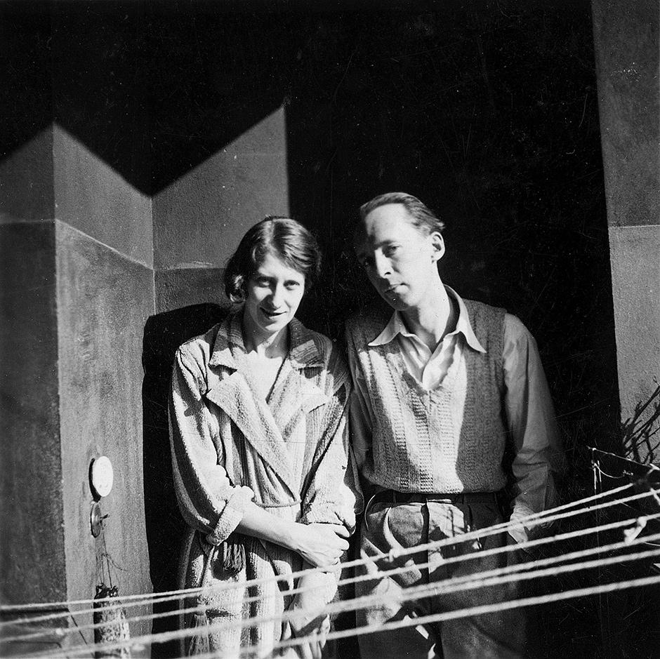 Véra and Vladimir Nabokov, Berlin, 1934; photograph by Nicolas Nabokov